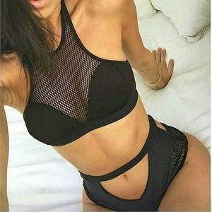 Other - High waist tankini set